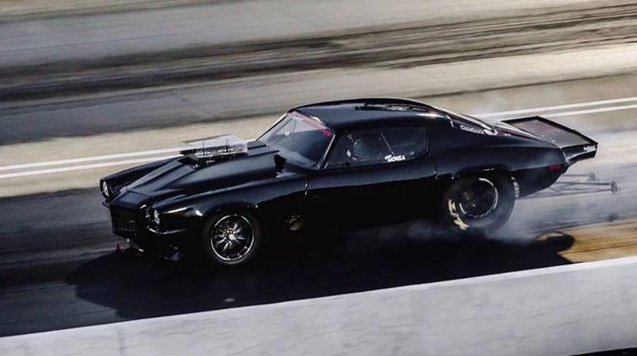 "Inside Street Outlaw's Star, Jerry ""Monza"" Johnston's 1972 Camaro"