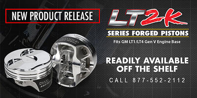 Diamond Adds Chevy LT Engines to the 2K Piston Series