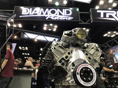 Visit Diamond Pistons At The 2017 PRI Show Booth 1825