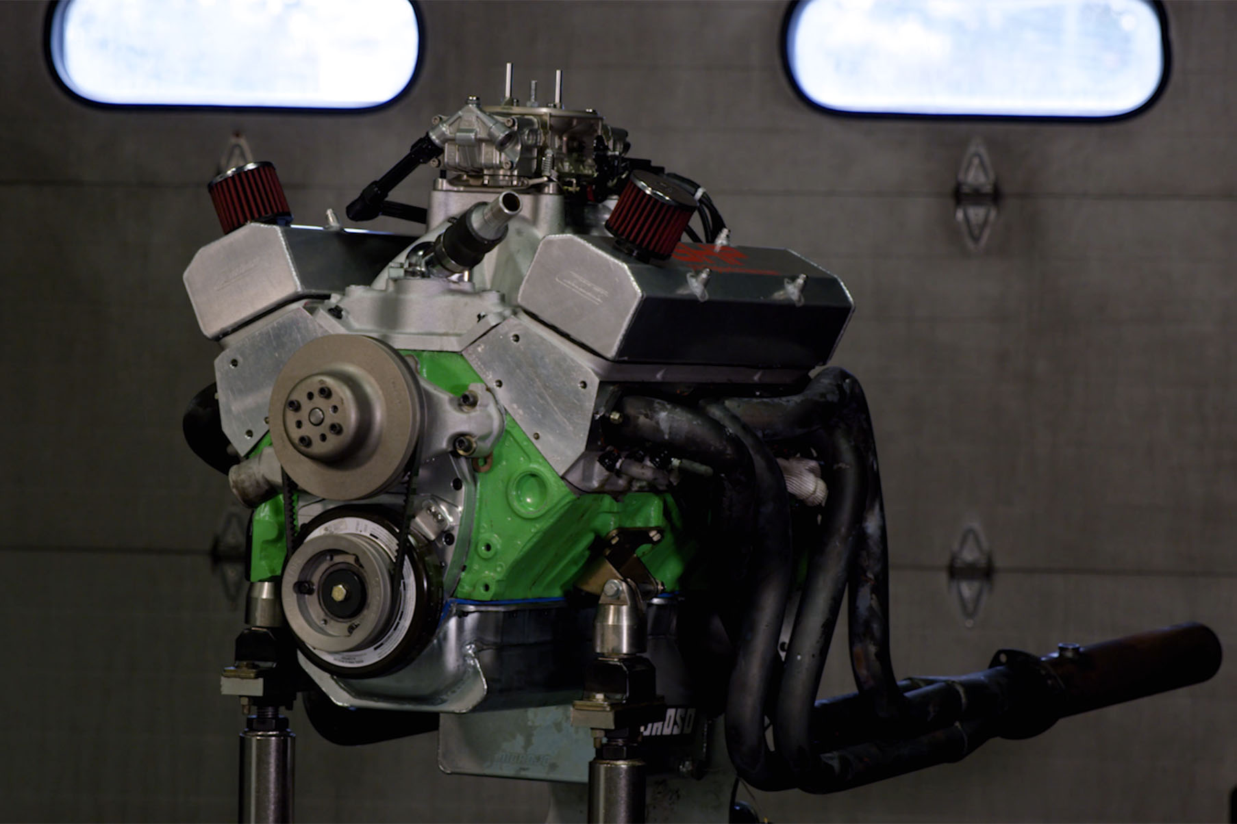Czar Racing's Burly Engine Masters SBC Build Rattles The Dyno
