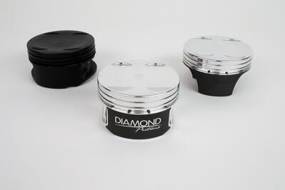 Diamond's 1,600hp-Ready Nissan GT-R Pistons Are Bad to the Bone!