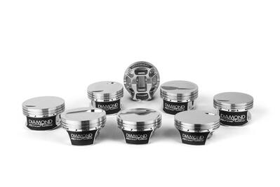 Inside Diamond Pistons New, Mercury Marine Replacement Pistons