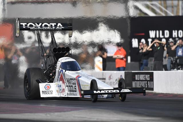 The Life of a Top Fuel Piston: as Told by Antron Brown's Co