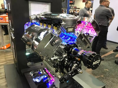 Video: Mike Moran's 5,300HP Engine!